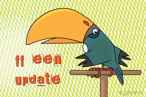 Kaart: Even een update