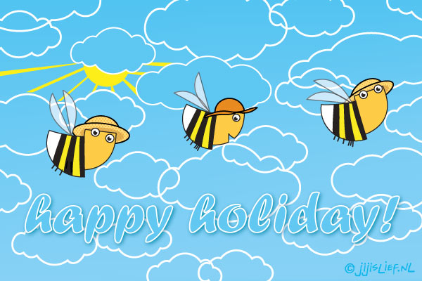Kaart: Happy holiday!
