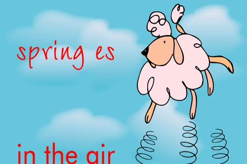 Kaart: Spring es in the air