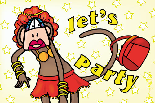 Kaart: Let's party