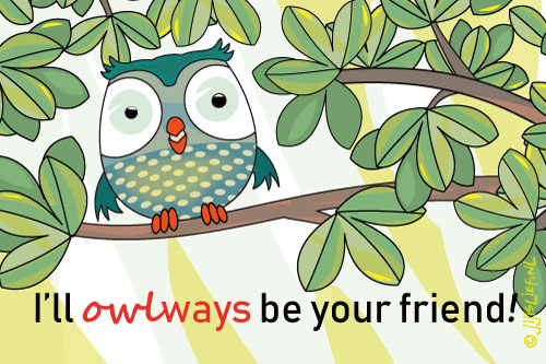 Kaart: Allways be your friend!